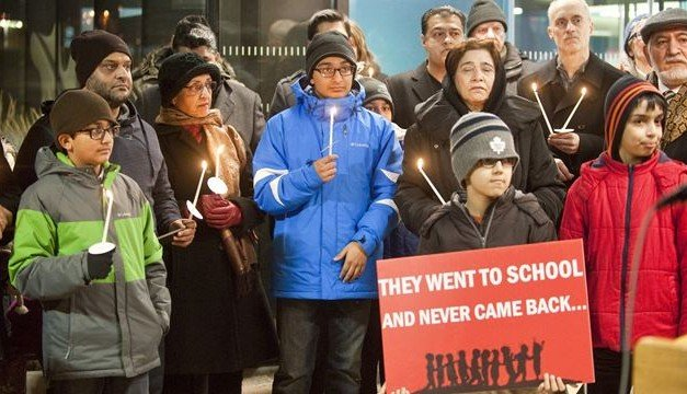 Oakville vigil honours children killed in Pakistan school massacre