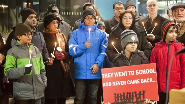 Oakville vigil honours children killed in Pakistan school massacre